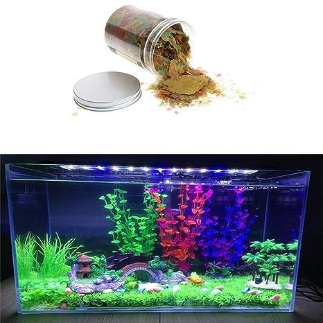 Balai - Cuenco para acuario con forma de copos de peces, 100 g, multicolor