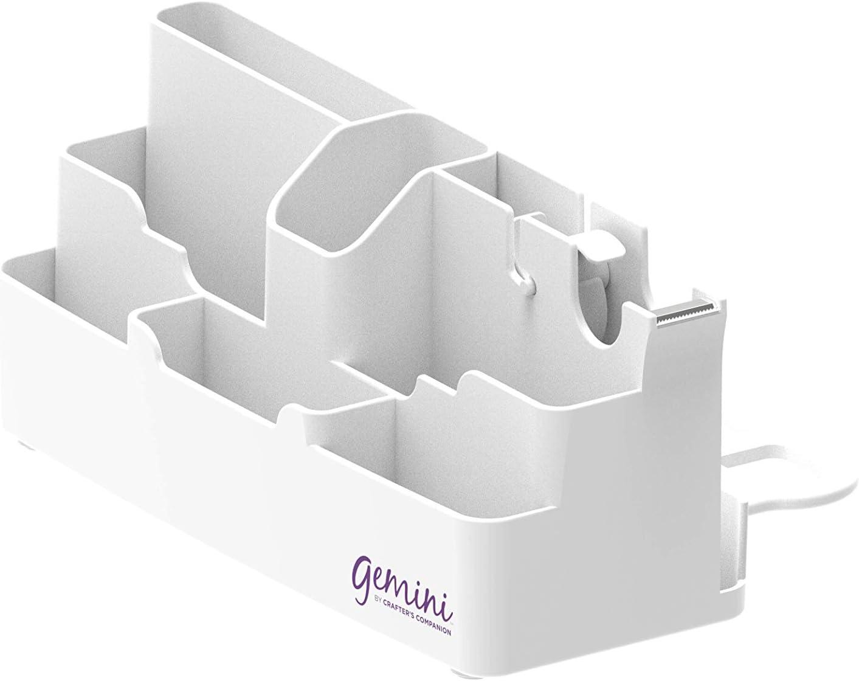 Gemini GEM-CAD Storage Caddy us:one size Attaches to Gemini /& Gemini Junior Die Cutting /& Embossing Machines White