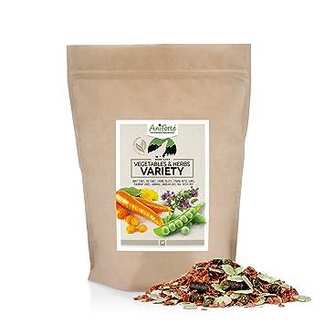 AniForte BARF - Mezcla de comida para perros, sin gluten, con vitaminas para perros y minerales: Amazon.es: Productos para mascotas