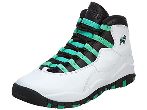 half off ac3cb 1f4dc Amazon.com | Jordan 10 Retro Verde (Gs) | Sneakers