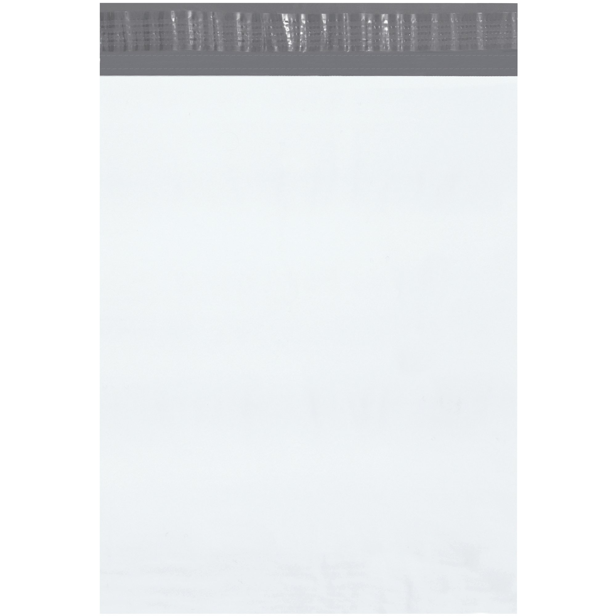 BOX USA BB87510PK Poly Mailer, 12'' x 15 1/2'', White (Pack of 18 Cases)