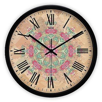 LKOPSLA Creación Digital Espejo acrílico Adhesivo de Pared Reloj Relojes para Pared del Dormitorio Salón Dormitorios Oficina: Amazon.es: Hogar