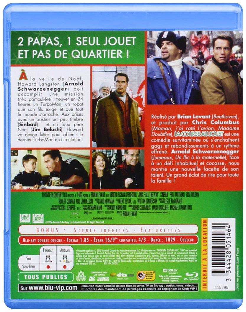 La Course au jouet [Francia] [Blu-ray]: Amazon.es: Arnold Schwarzenegger, Sinbad, Phil Hartman, Rita Wilson, Robert Conrad, Brian Levant: Cine y Series TV