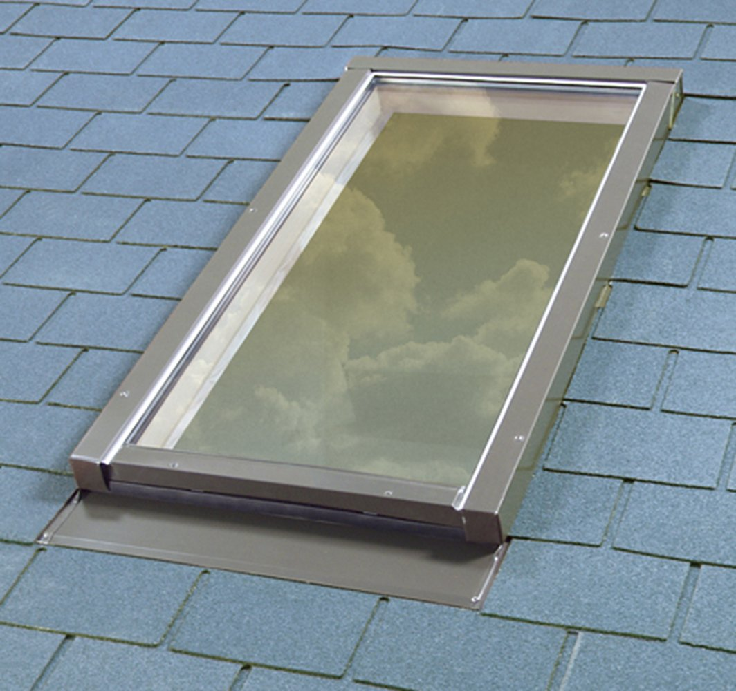 FAKRO FX 806812 Fixed Skylight Laminated Glass FX-504L 30-1//2 x 37-1//2 Inches