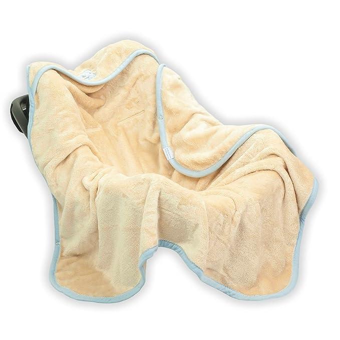 Car Seat Stroller Koala Swaddle Blanket Wrap Cosytoes Footmuffs Seat Belt Slots Beige