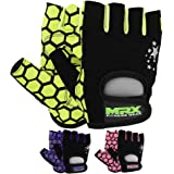 MRX Ladies Weight Lifting Gloves Women Fitness Training Exercise Glove Crossfit Multi Colors