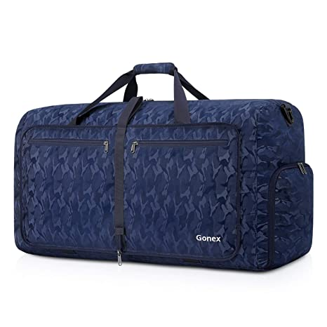 b946d9e3235d Amazon.com  Gonex Foldable Travel Duffel 80L