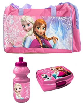 a2e5b10b0141 Trend Star 10 Trend Products Shop Frozen Disney Frozen Sports Bag  Children s Set Of 3 Travel Sports Bag
