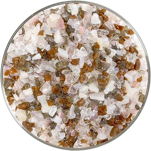 Bullseye Glass Coarse Frit Medium Amber 90 COE