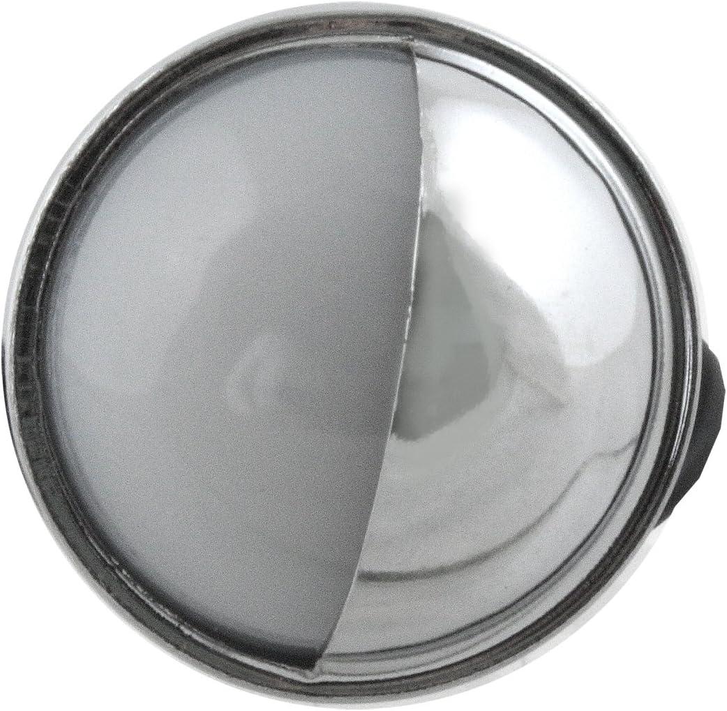 Pilot Automotive NV-5020 Chrome Snap On Utility Lamp with Soft White Lens