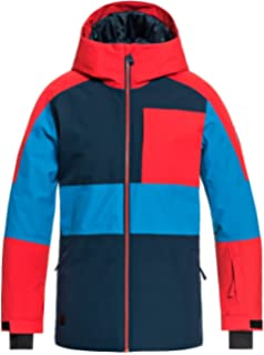 Amazon.com: Quiksilver Boys Big Raft Youth 10k Snow Jacket ...