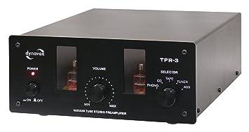 Dynavox TPR-3 - Amplificador valvular, color negro