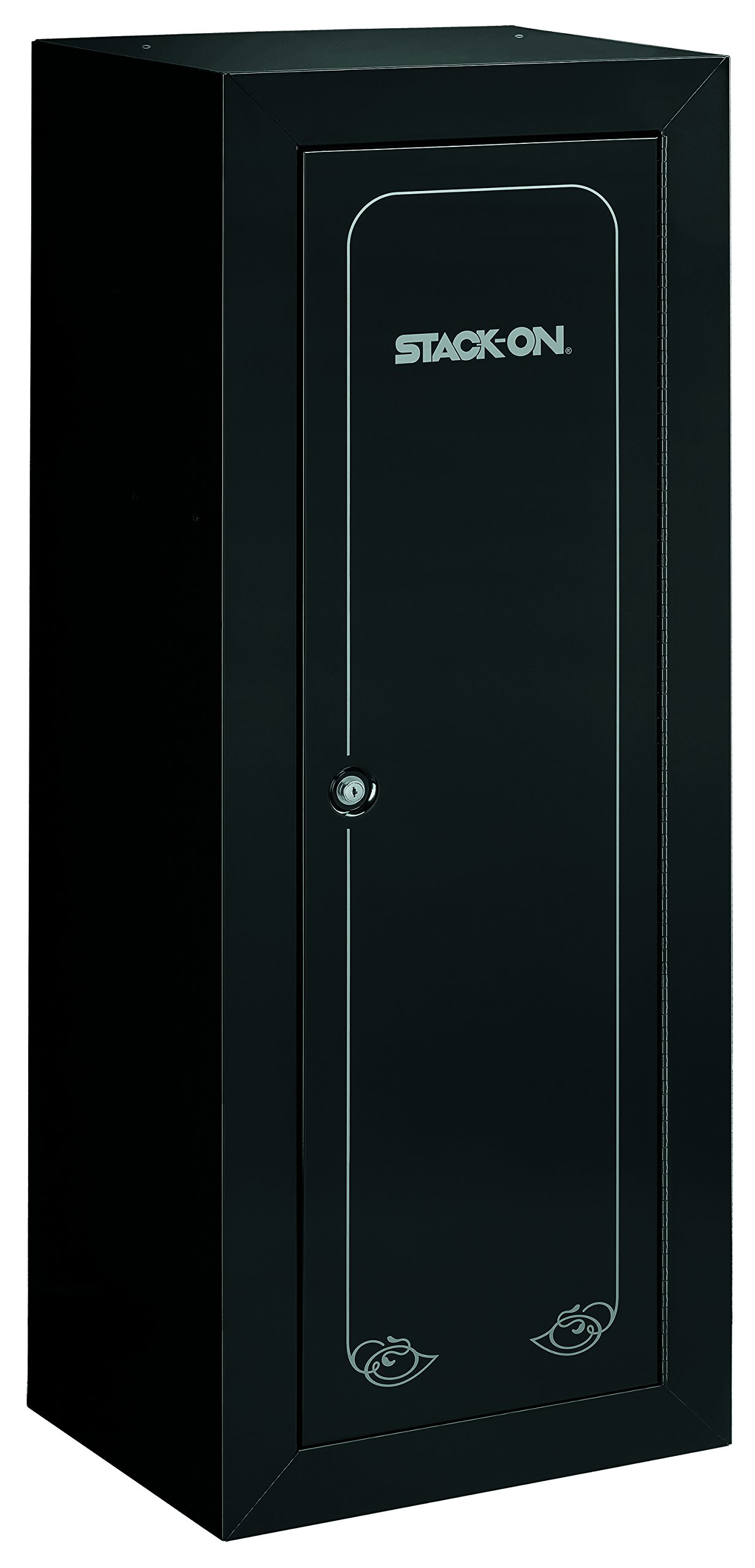Stack-On GCB-1522 Steel 22-Gun Security Gun Cabinet with Foam Barrel Rests, Black by Stack-On