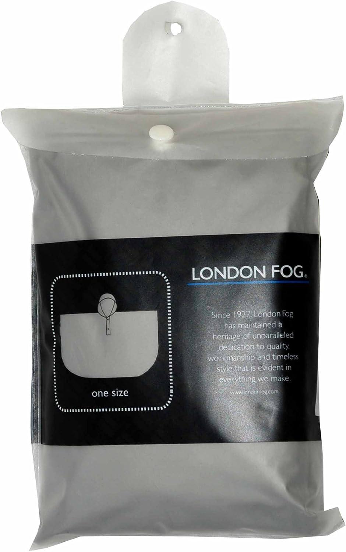 One Size Dark Navy London Fog Adult Poncho