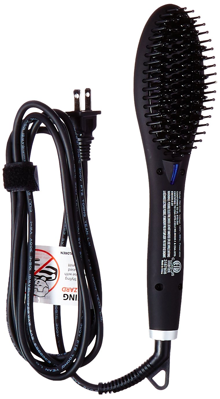Top 10 Best Hair Straightener Brush – Hair Straightening Reviews in 2020 8