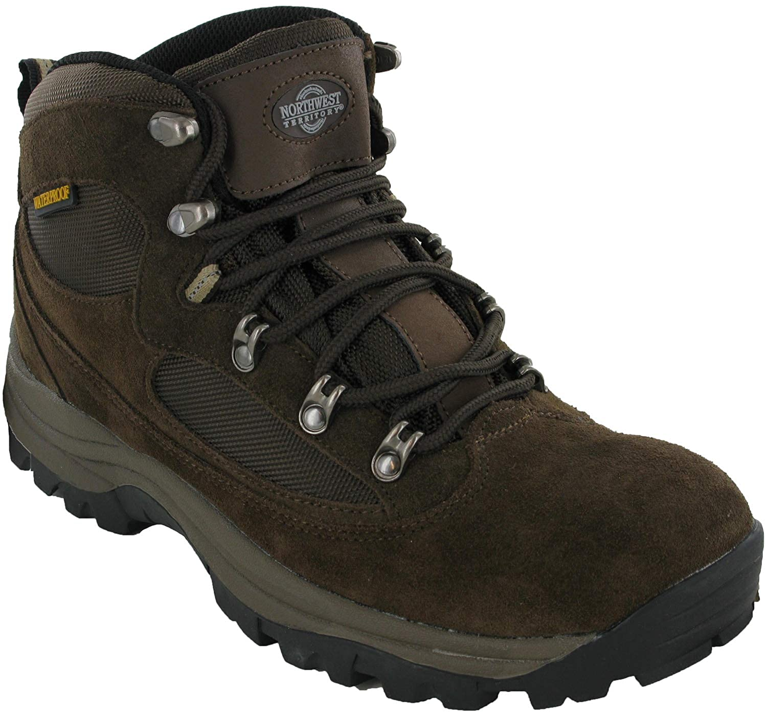 8536657bcb7 Northwest Waterproof Hiking Boots Walking Mens Kendal Lace Up Outdoor Shoes
