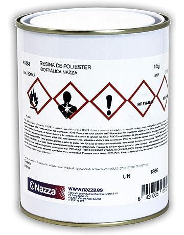 Resina de Poliéster Transparente de Tipo Isoftálico - Envase de 1 KG
