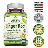 Herbal Secrets Ginger Root 550 Mg 250 Capsules