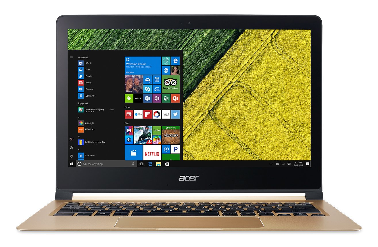 Acer Swift 7, 13.3 Full HD, 7th Gen Intel Core i5-7Y54, 8GB LPDDR3, 256GB SSD, Windows 10, SF713-51-M90J
