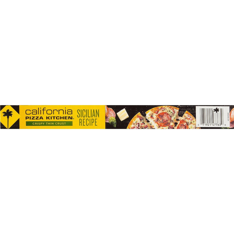 California Pizza Kitchen, Crispy Thin Crust Sicilian Recipe Frozen ...