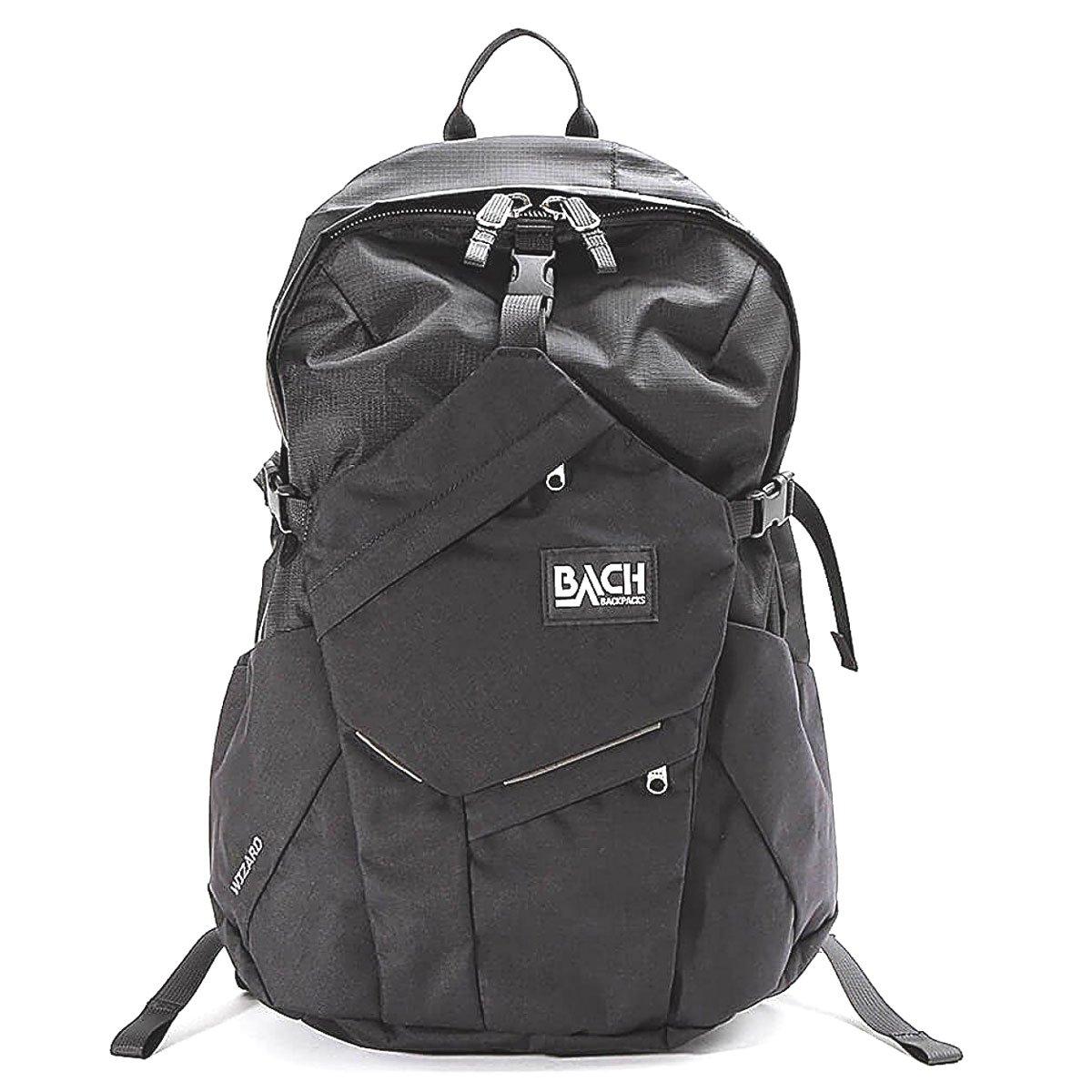 [ バッハ ] BACH バックパック 27L リュック リュックサック Wizard 27 ウィザード 127211 ブラック Backpack Black 多機能 ナイロン バック A4 B075XJ5YYY ブラック