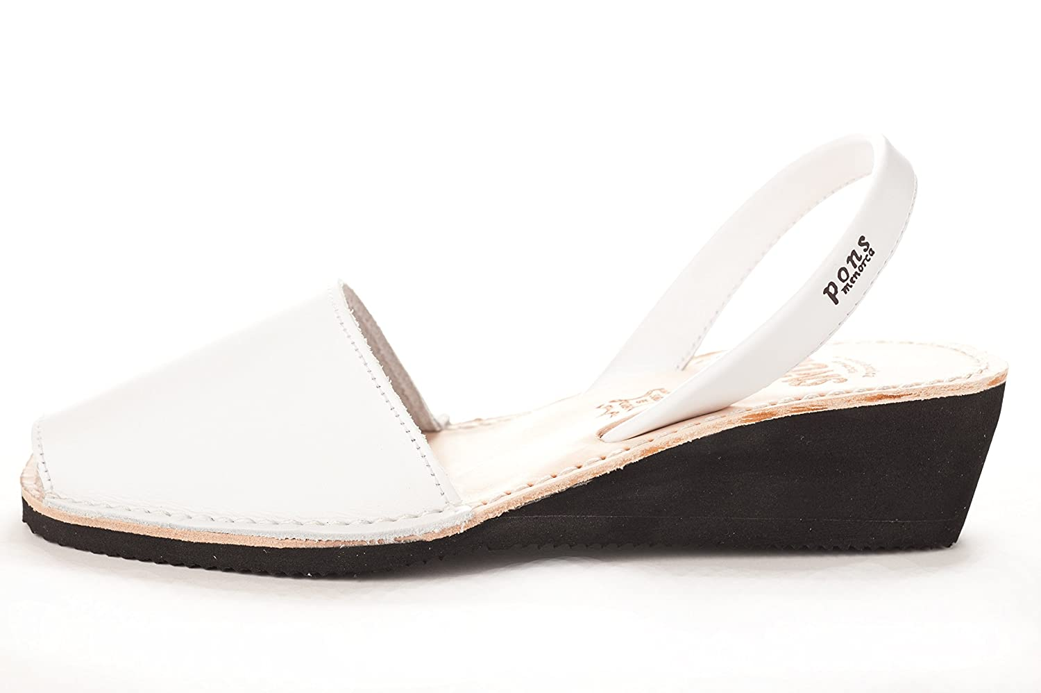 White Pons 2021 - Avarca Wedge Taupe