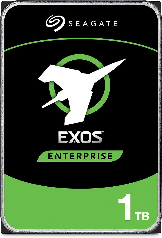Seagate Exos 1TB Internal Hard Drive Enterprise HDD – 3.5 Inch 6Gb/s 7200 RPM 128MB Cache for Enterprise, Data Center