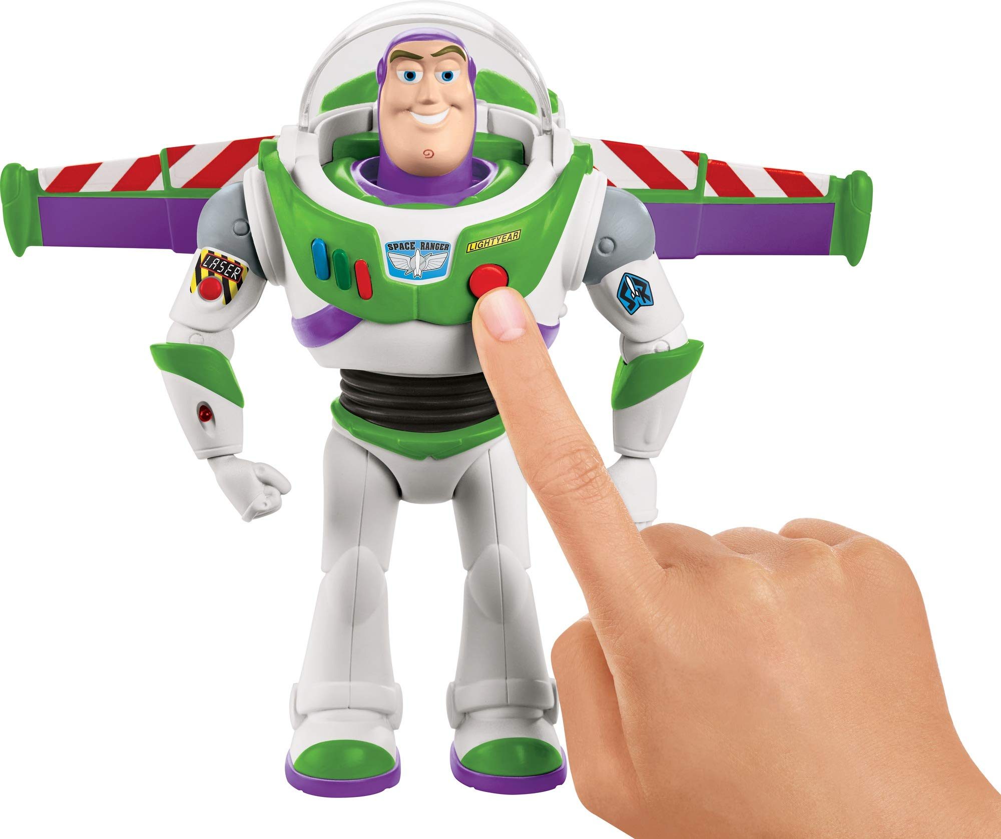 Disney Pixar Toy Story Ultimate Walking Buzz Lightyear, 7'' by Toy Story (Image #8)