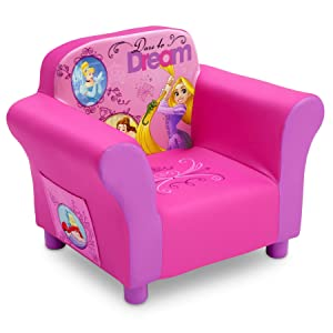 Delta Children Upholstered Chair, Disney Princess