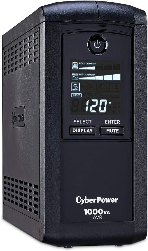 1000VA//550W 4xSchuko VP1000ELCD CyberPower ValuePRO Line-Intera