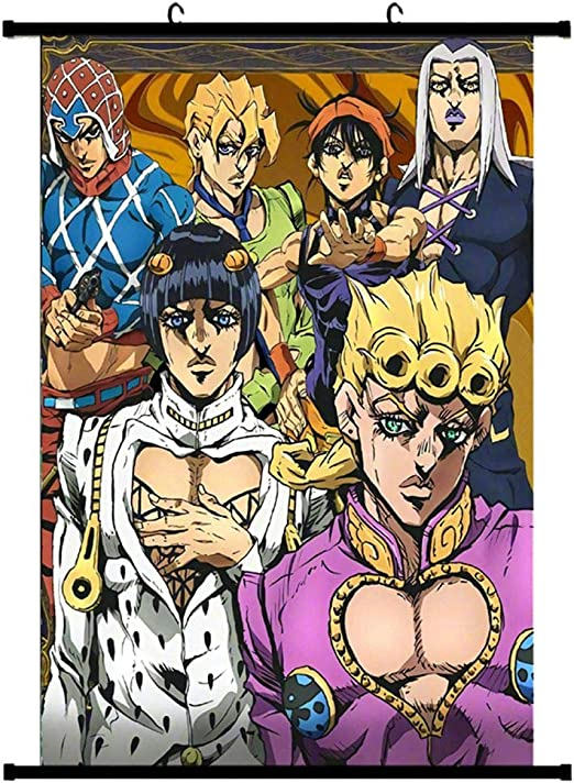 "JoJo/'s Bizarre Adventure poster wall art home decor photo print 24x24/"" inches"