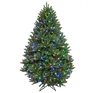 7.5 ft. Pre-Lit LED California Cedar Artificial Christmas Tree with Color  Changing RGB - Amazon.com: 7.5 Ft. Pre-Lit LED California Cedar Artificial