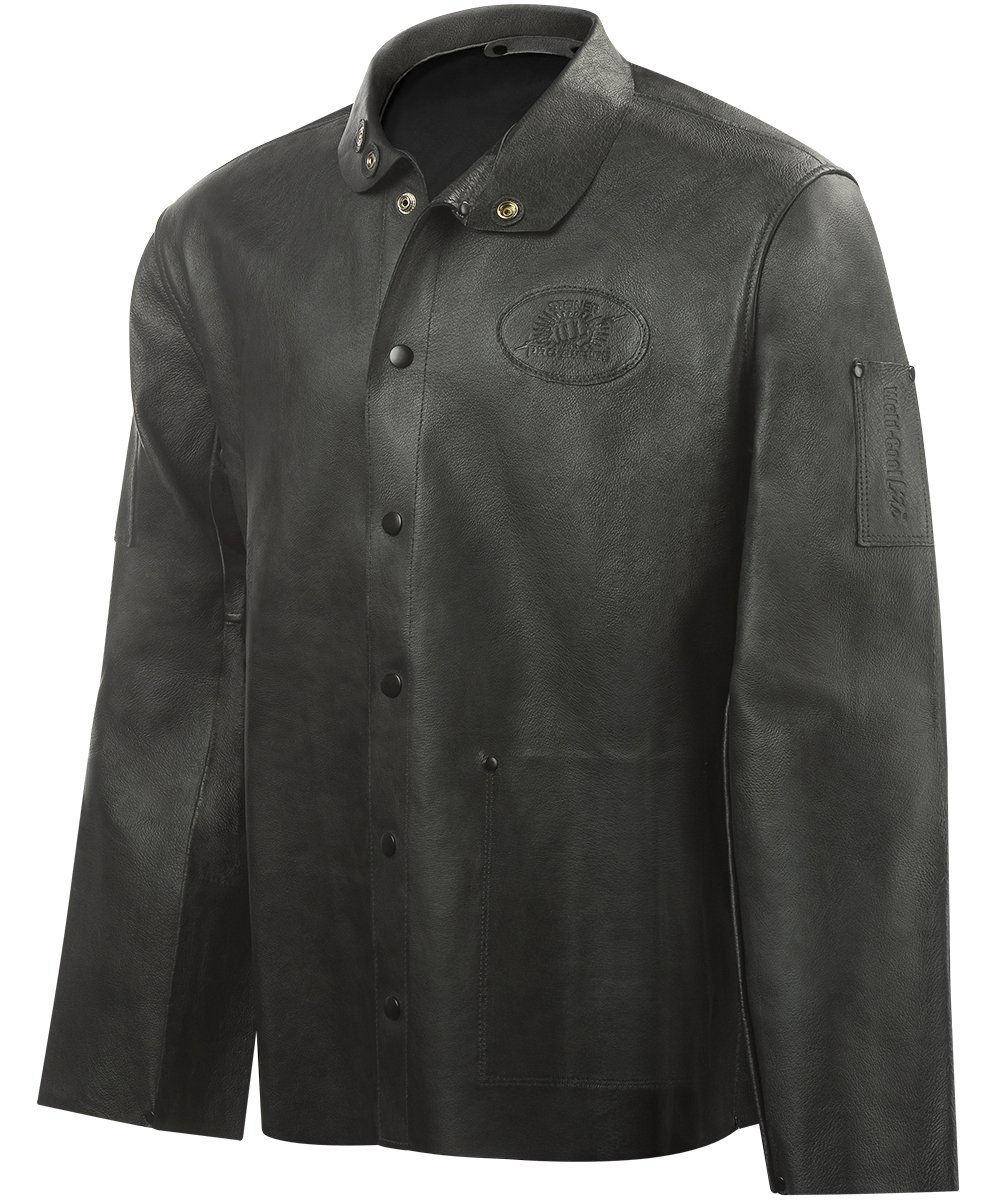 Steiner 92P8-M 30-Inch Pro-Series Grain Pigskin Welding Jacket, Medium