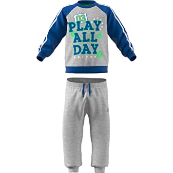 a50147278677 adidas Originals Unisex Baby French Terry Graphic Jogger Tracksuit ...