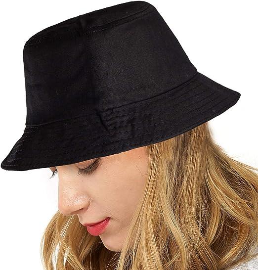 LADYBRO Women Hats for Men Hat - Black Bucket Hat Men Camping Fisherman Hat  Caps for Men at Amazon Women's Clothing store
