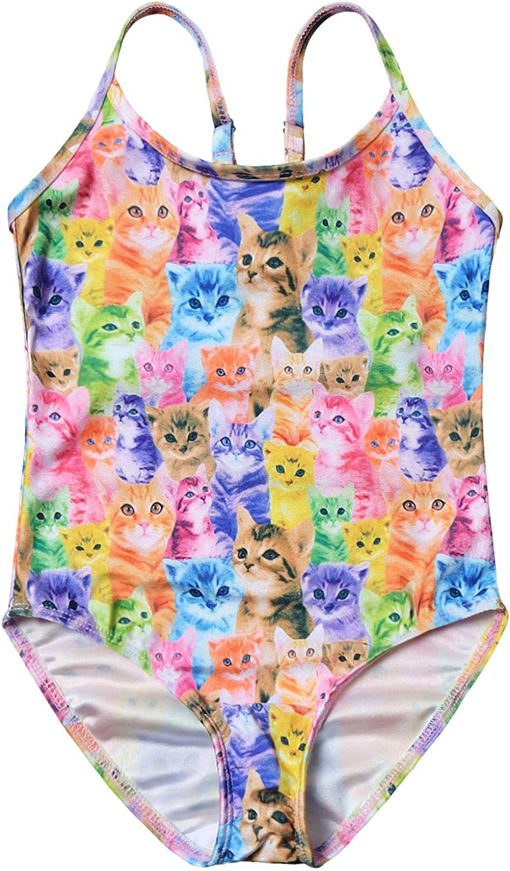 various sizes Unicorn Girls Swim Sun Suit CostumeUPF Protection 50