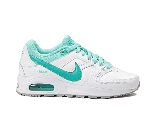 Nike Air Max Ivo Girls Trainers Shoes Platinum/Blue MW