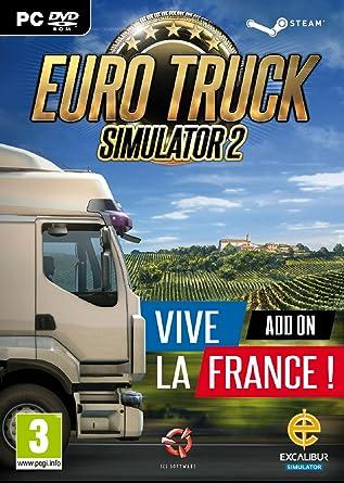 Euro Truck Simulator 2 - Vive La France! Add-On [Importación Inglesa]: Amazon.es: Videojuegos
