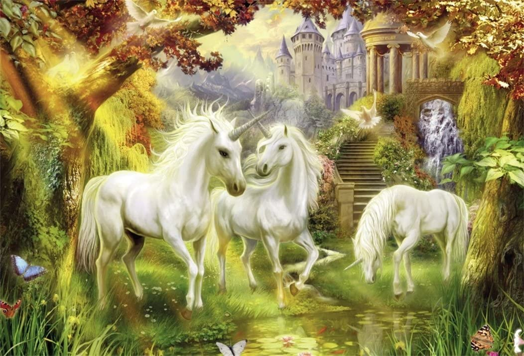 Unicorn Party Backdrops 7×5 Ft Page Three