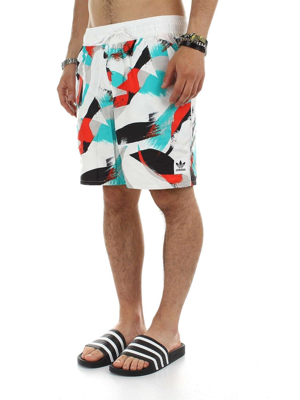 adidas Originals Men's Originals Courtside Shorts Energy XS White at Amazon  Men's Clothing store: