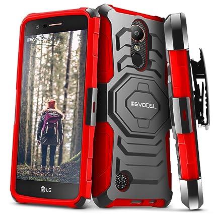 Amazon.com: Funda para LG K20 Plus / LG K20 V Funda Evocel ...