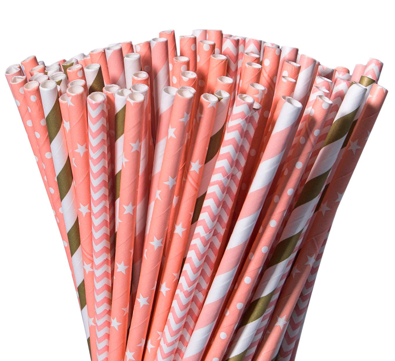 Pack of 20 Unicorn Paper Party Straws