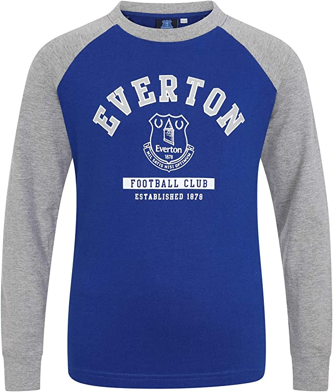 Everton FC Official Football Gift Kids Graphic T-Shirt