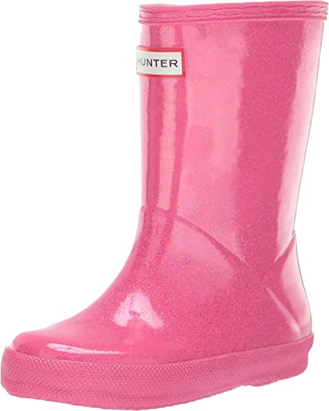 Amazon.com: Hunter Kids Baby Girls First Classic Glitter ...