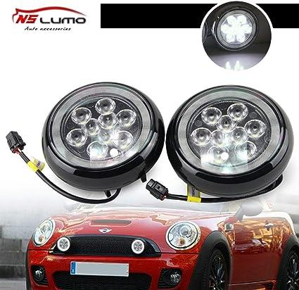 Kit de luces LED de rally Min – Luz LED de rally con anillo de ...