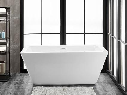 Ravenna 60 X 28 Freestanding Acrylic Soaking Bathtub Amazon Com