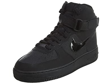 Nike Air Force 1 Mid Youth GS Scarpa nero Donna Scarpe