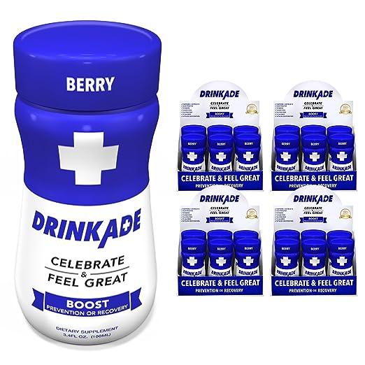 DrinkAde Boost (24 pack of 3.4 oz bottles)