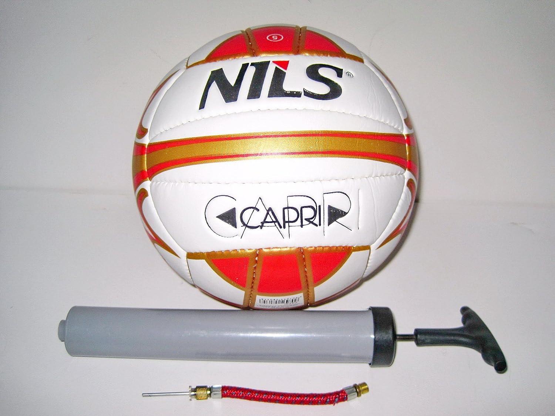 Nils vawila/balón de Volley playa Capri con bomba de: Amazon.es ...