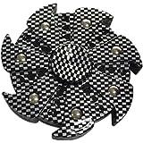 Chinget Fidget Toys Hand Spinner Fidget Spielzeug EDC Focus Spielzeug Schwarz 6cm